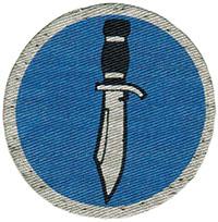 """ATF-9, """"Corlett's Long Knives,"""" SSI"""